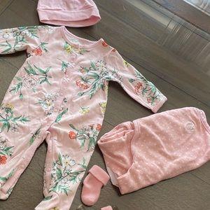 Adorable Sleepwear & Swaddle Set